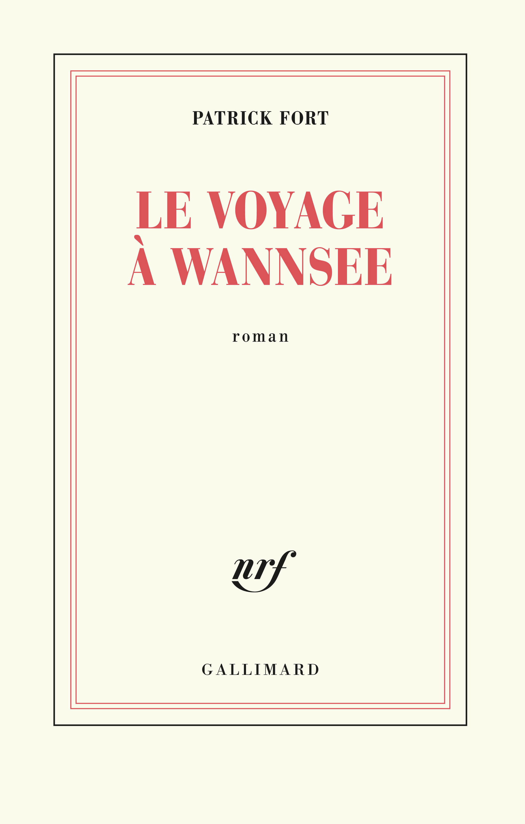 Le voyage à Wannsee1